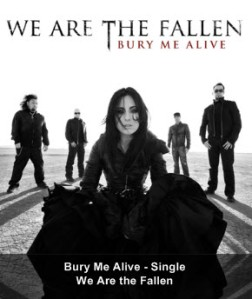 Carly Smithson and We Are The Fallen – 'Bury Me Alive' Now Available for Download