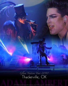 Adam Lambert – Glam Nation Tour – Winstar Casino – Thackerville, OK – 9/10/10