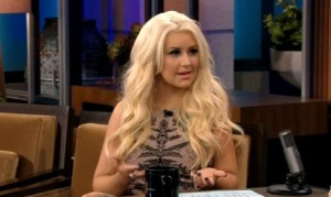 "Christina Aguilera Talks ""The Voice"" on the Tonight Show (VIDEO)"