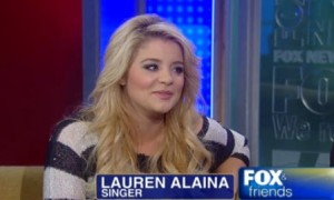 American Idol: Lauren Alaina Drops By Fox and Friends (VIDEO)