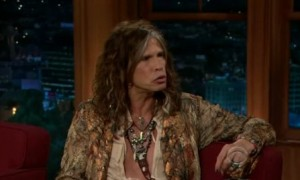 Steven Tyler talks Simon Cowell and More on The Late Late Show (VIDEO)