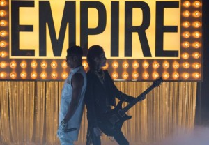 "EMPIRE: Hakeem (Bryshere Gray) perform in the ""Our Dancing Days"" episode airing Wednesday, Feb. 18 (9:01-10:00 PM ET/PT) on FOX. ©2014 Fox Broadcasting Co. CR: Chuck Hodes/FOX"